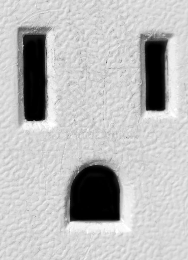Amerikaanse ElektroAfzet stock afbeeldingen