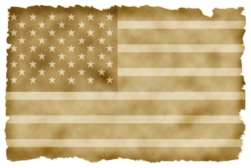 Amerikaanse fag royalty-vrije stock afbeelding