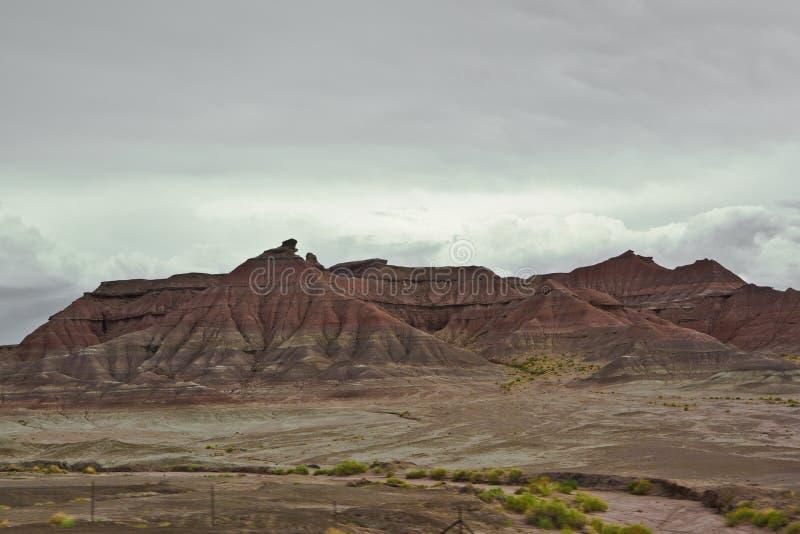 Amerikaanse landschappen in Arizona stock afbeeldingen