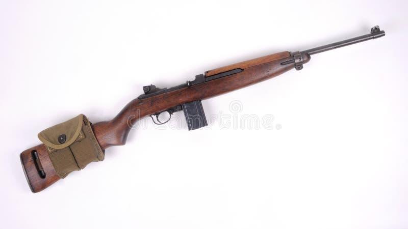 Amerikaanse M1 Karabijn stock afbeelding