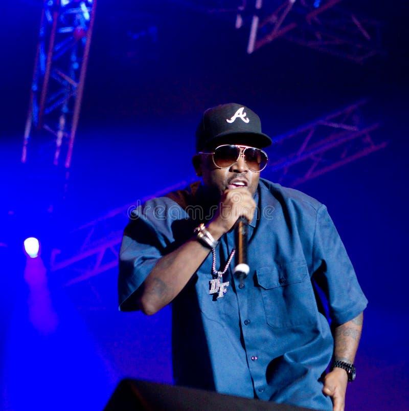 Amerikaanse rapper Grote Boi stock fotografie