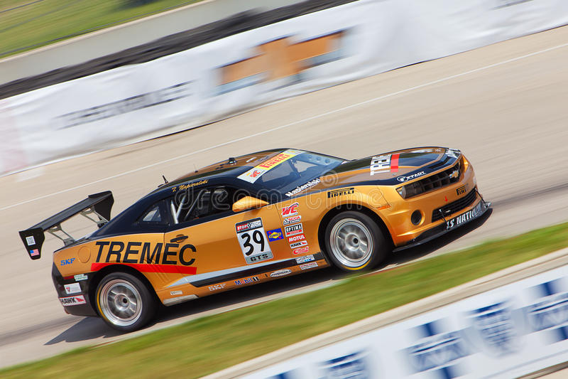 Amerikaanse Spierauto 2013 Detoit-Grand Prix stock fotografie