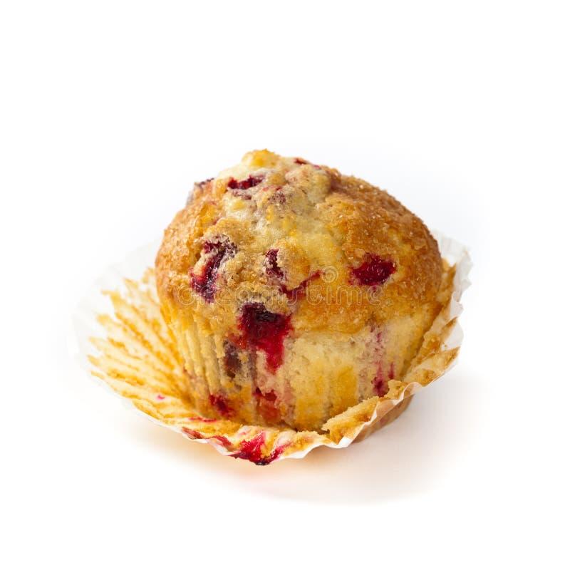 Amerikaanse veenbes Oranje Muffins stock foto's