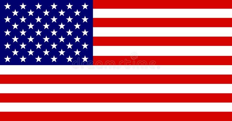 Download Amerikaanse Vlag vector illustratie. Illustratie bestaande uit patriotic - 31355