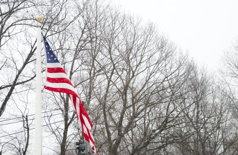 Amerikaanse vlag royalty-vrije stock foto