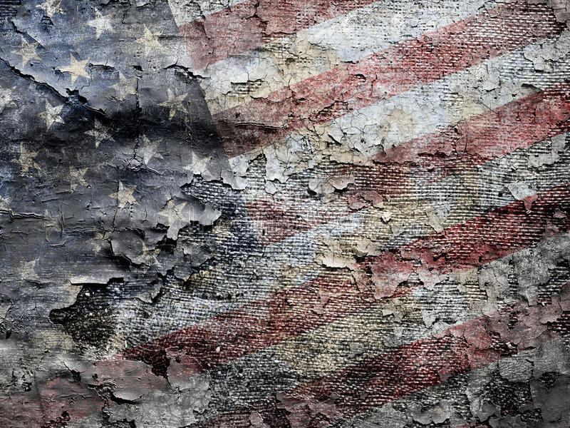 Amerikaanse vlagachtergrond. royalty-vrije stock afbeelding