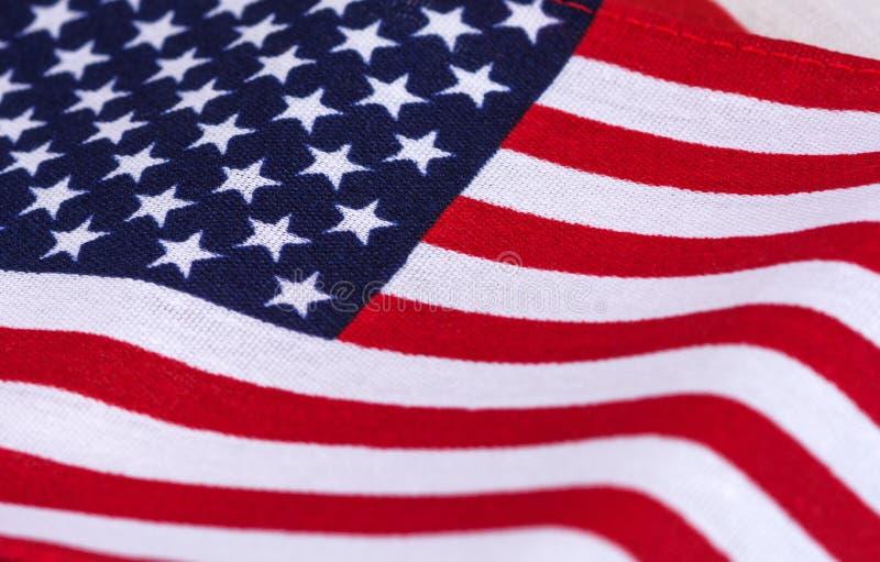 Amerikaanse vlagachtergrond stock foto's
