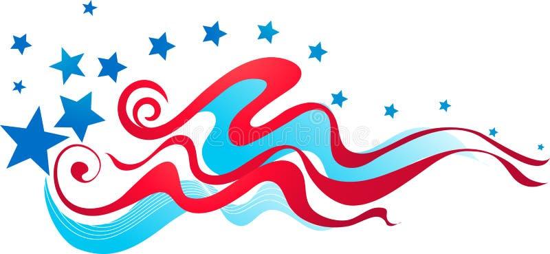 Amerikaanse vlagbanner