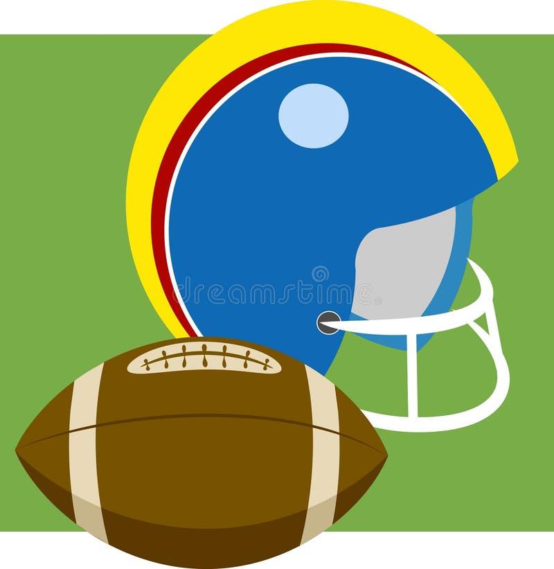 Download Amerikaanse Voetbal vector illustratie. Afbeelding bestaande uit grafiek - 43730