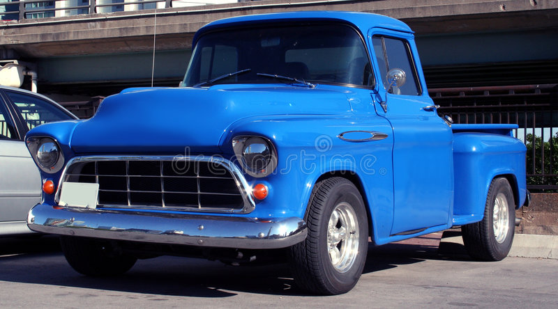 Amerikaanse vrachtwagen royalty-vrije stock afbeelding