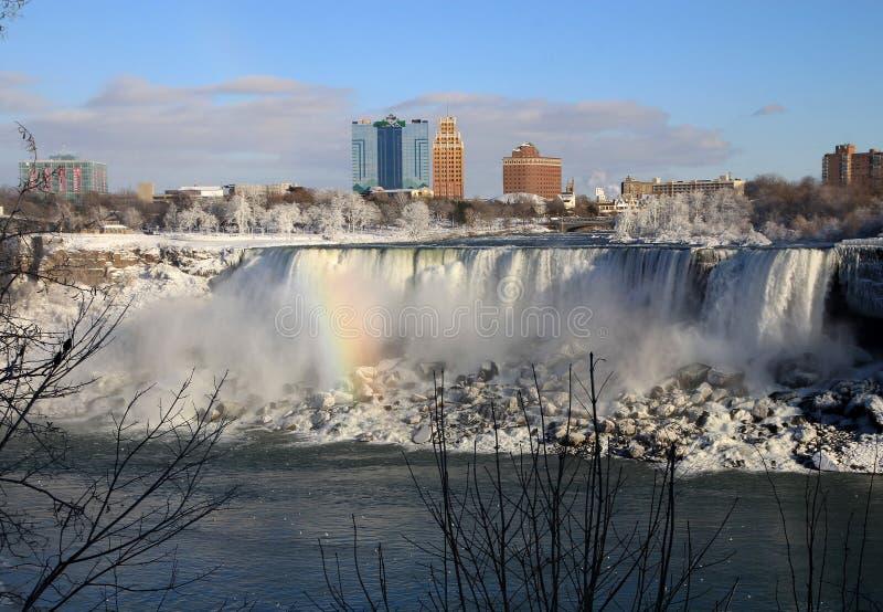 Amerikaanse watervallen stock foto's