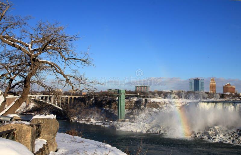Amerikaanse watervallen stock foto
