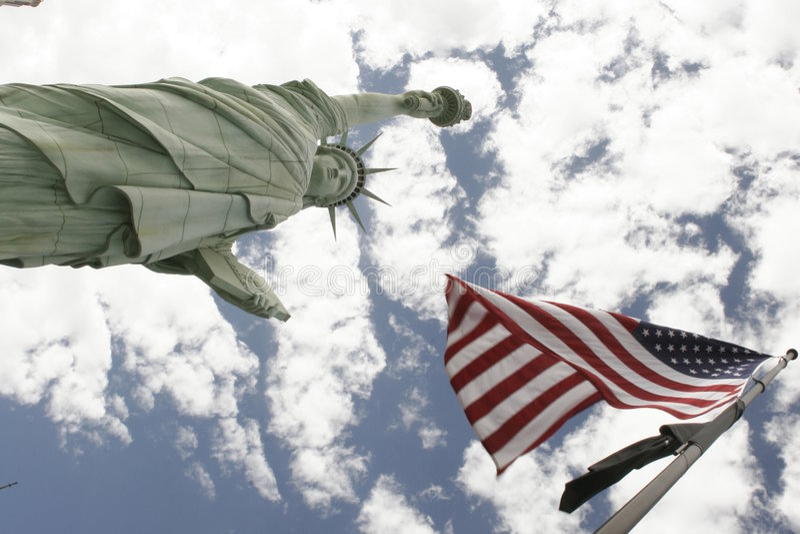 Amerikanisch! stockfotografie