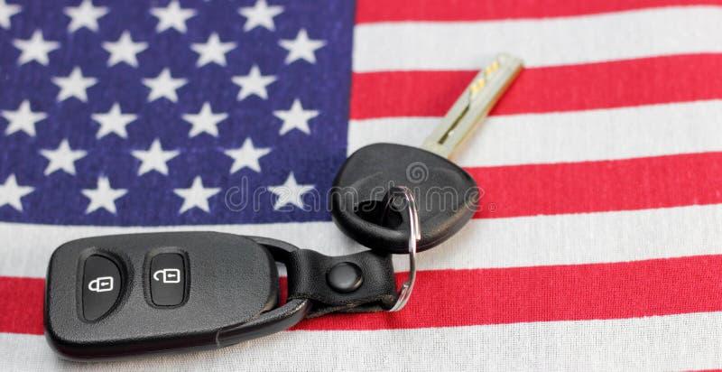 Amerikanische Fahrer stockbild