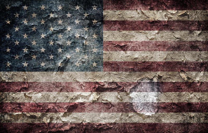 Amerikanische Flagge. lizenzfreie stockbilder