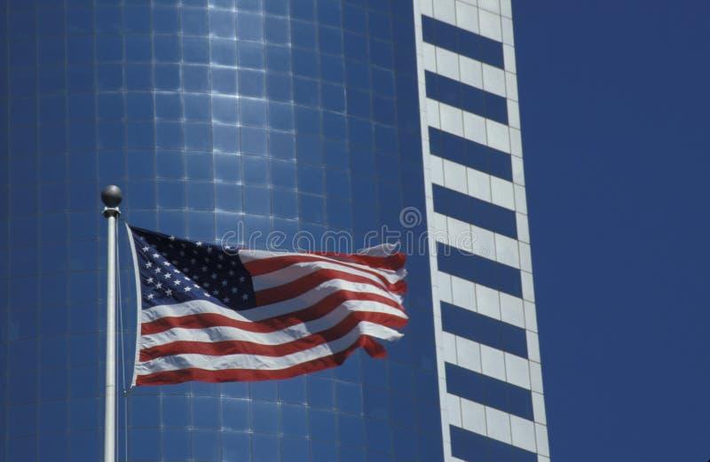 Amerikanische Flagge lizenzfreie stockfotos