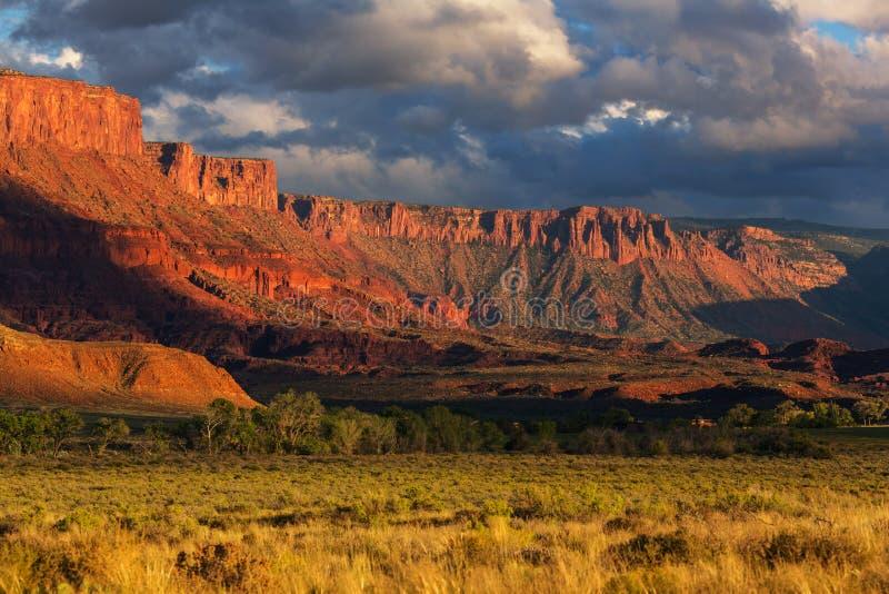 Amerikanische Landschaften lizenzfreies stockbild