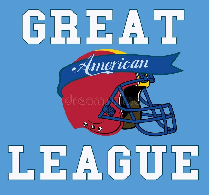 Amerikanische Liga lizenzfreie abbildung