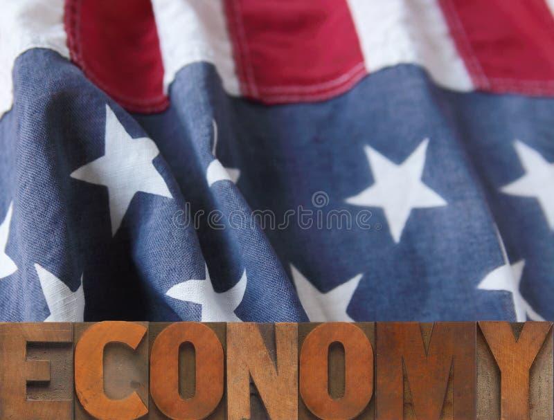 Amerikanische Wirtschaftlichkeit lizenzfreies stockfoto