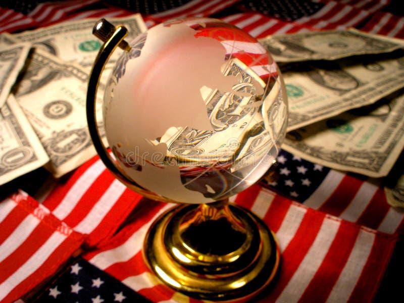 Amerikanische Wirtschaftlichkeit stockfotografie