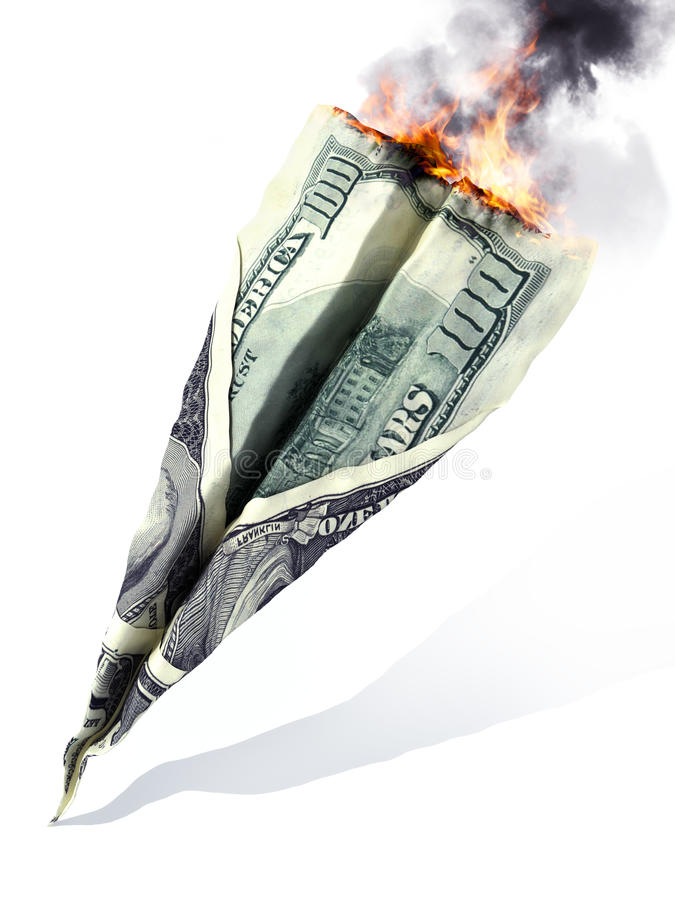 Amerikanischer Börsenkrach oder Abteilungs-Konzept stockfotos