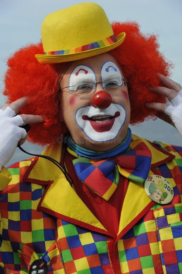 Amerikanischer Clown lizenzfreies stockbild