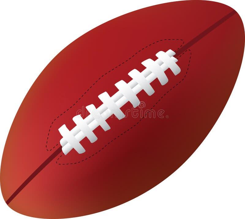 Amerikanischer Fußball stock abbildung