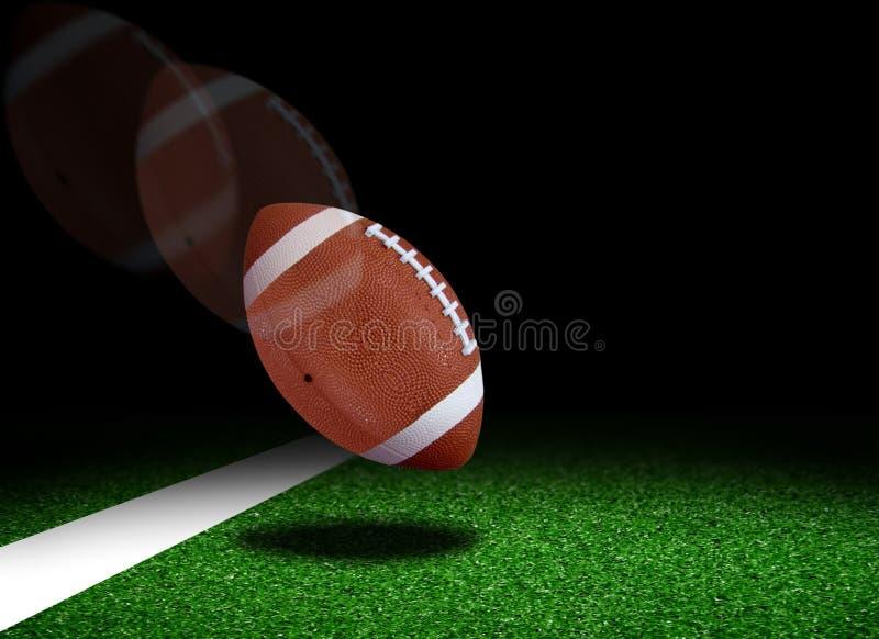 Amerikanischer Fußball stockfoto