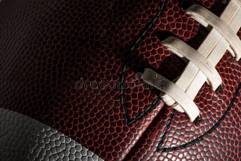 Amerikanischer Fußball lizenzfreie stockfotos