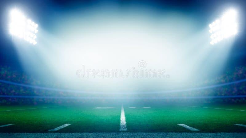 Amerikanischer Fußball-Stadion stockfotos