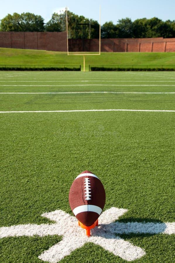 Amerikanischer Fußball-Start lizenzfreies stockfoto