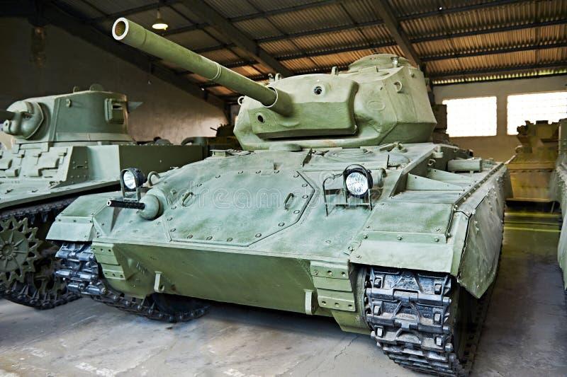 Amerikanischer Heller Behälter M24 Chaffee Stockbild - Bild von ...