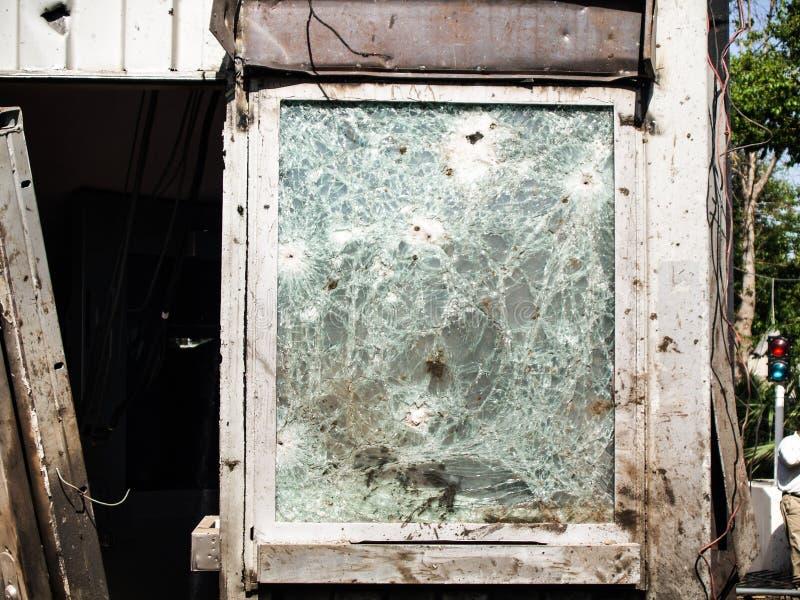 Amerikanischer Konsulat-Angriff in Peschawar, Pakistan lizenzfreies stockfoto