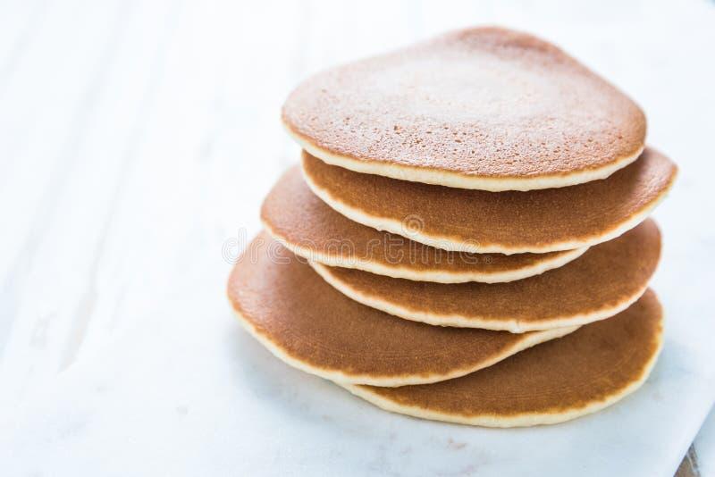 Amerikanischer Pfannkuchenstapel stockfotografie