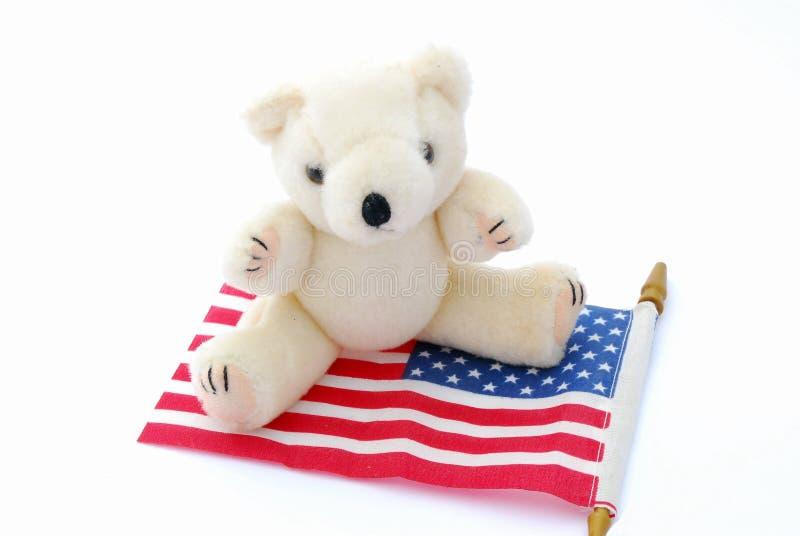 Amerikanischer Teddybär stockbild