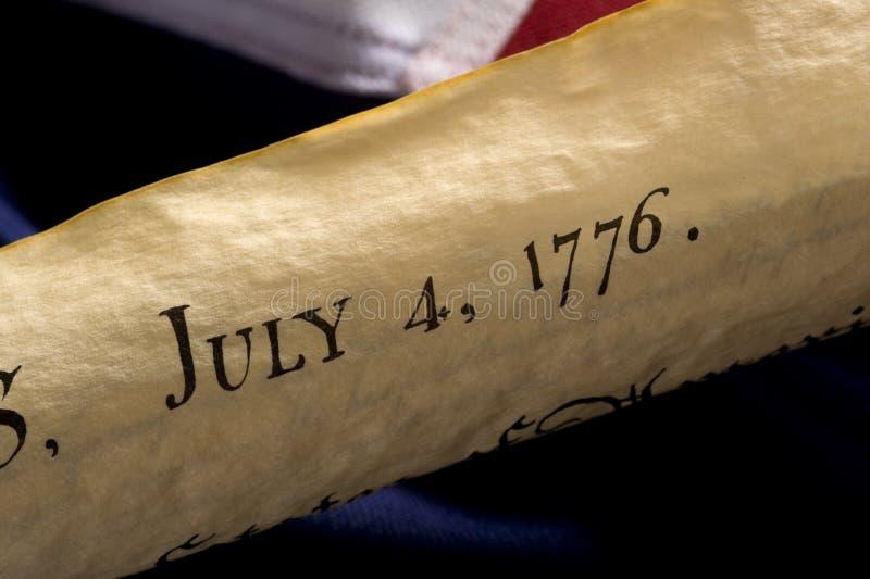 Amerikanischer Unabhängigkeitstag lizenzfreies stockfoto