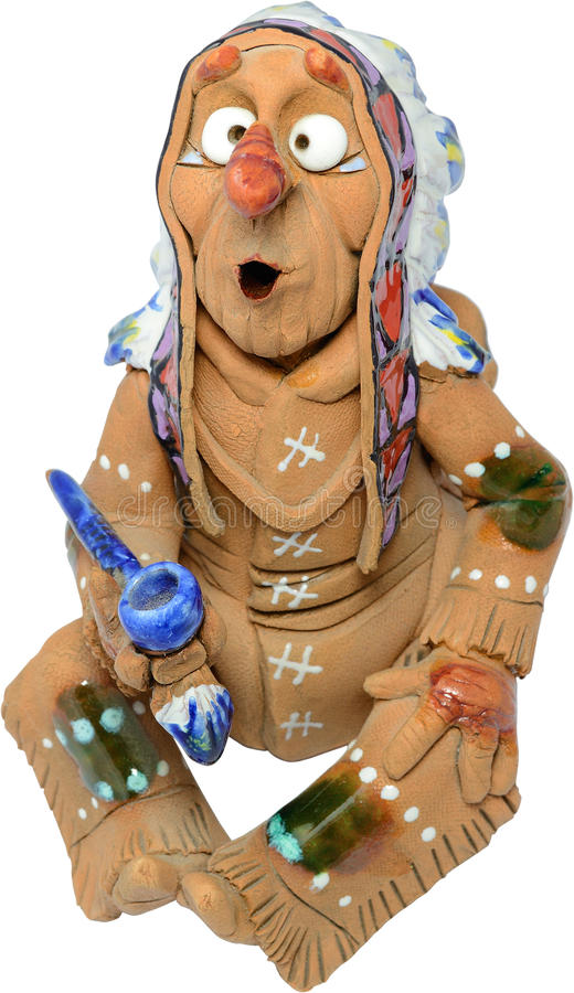 Amerikanischer Ureinwohner vektor abbildung