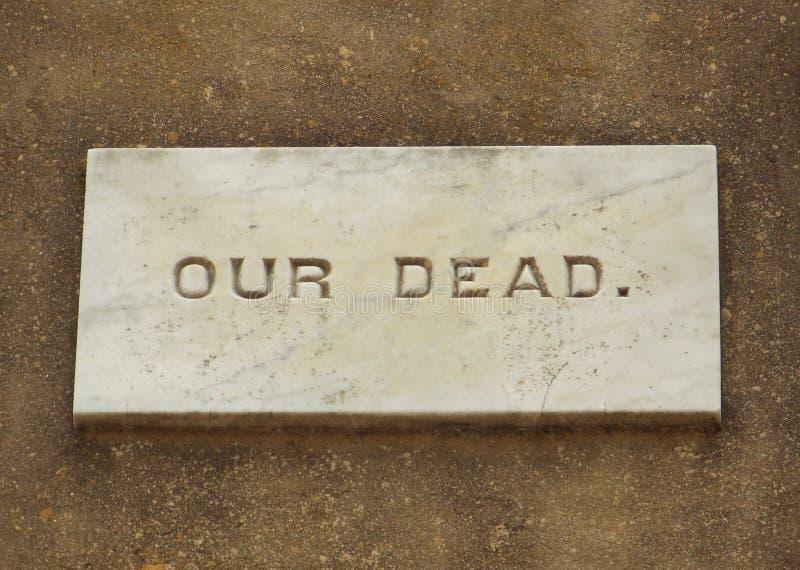 Amerikanisches Bürgerkrieg-Monument lizenzfreies stockfoto