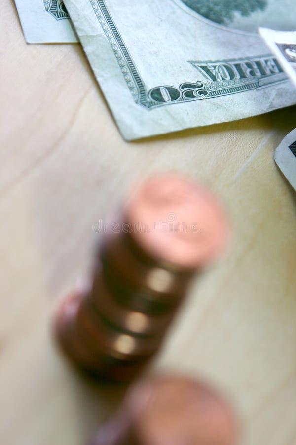 Amerikanisches Geld stockfotografie