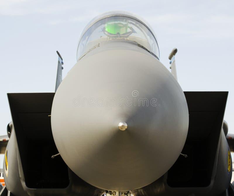 Amerikanisches Kampfflugzeug lizenzfreies stockfoto