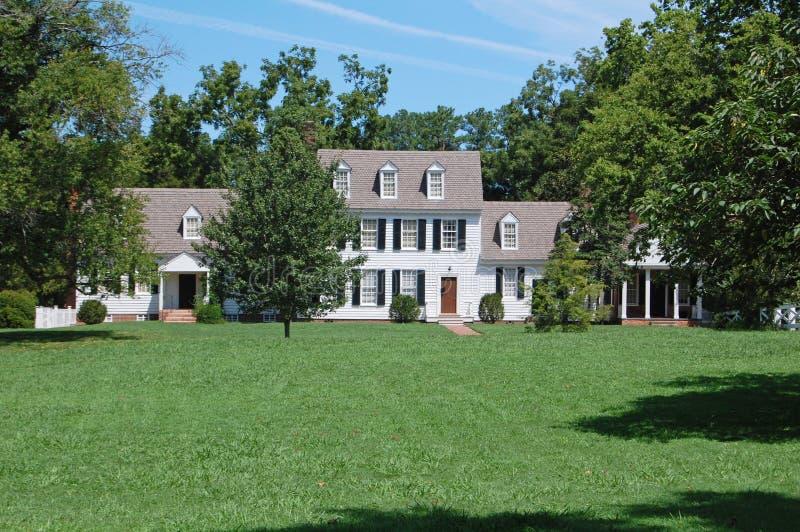 Amerikanisches landhaus stockbild bild von recht - Amerikanisches landhaus ...