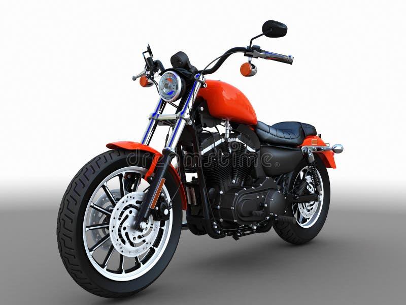 Amerikanisches Motorrad lizenzfreie abbildung