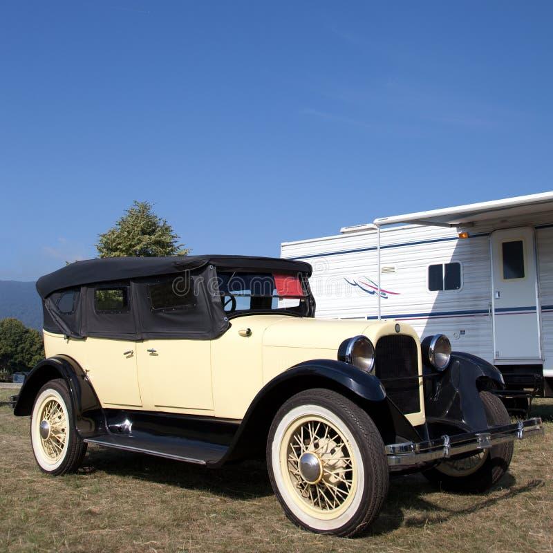 Amerikanisches Oldtimer-Auto von den zwanziger Jahren stockbilder