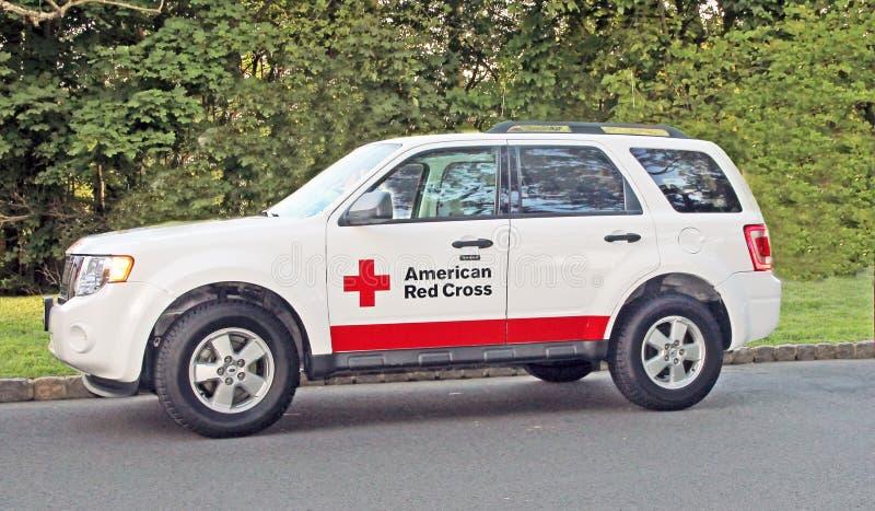 Amerikanisches rotes Kreuz stockbilder