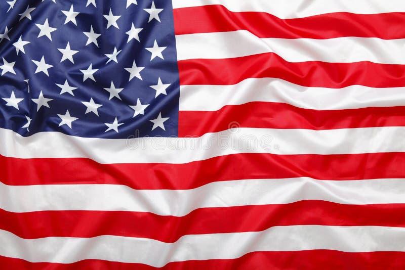 Amerikanisches Sternenbanner Flaggenhintergrund lizenzfreie stockfotos