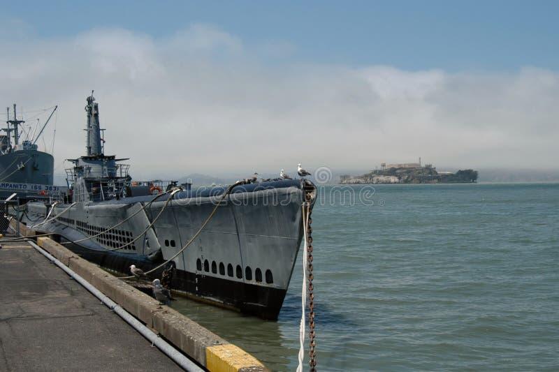 Amerikanisches Unterseeboot stockfotos