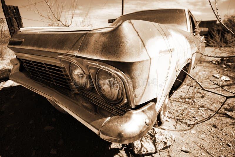amerikansk antik bilöken arkivfoto