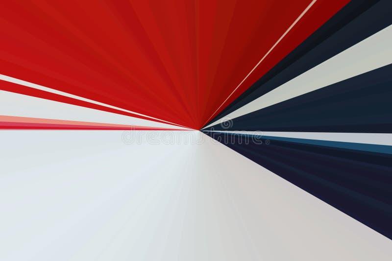 Amerikansk bakgrund USA Amerika för flagga strålar stock illustrationer