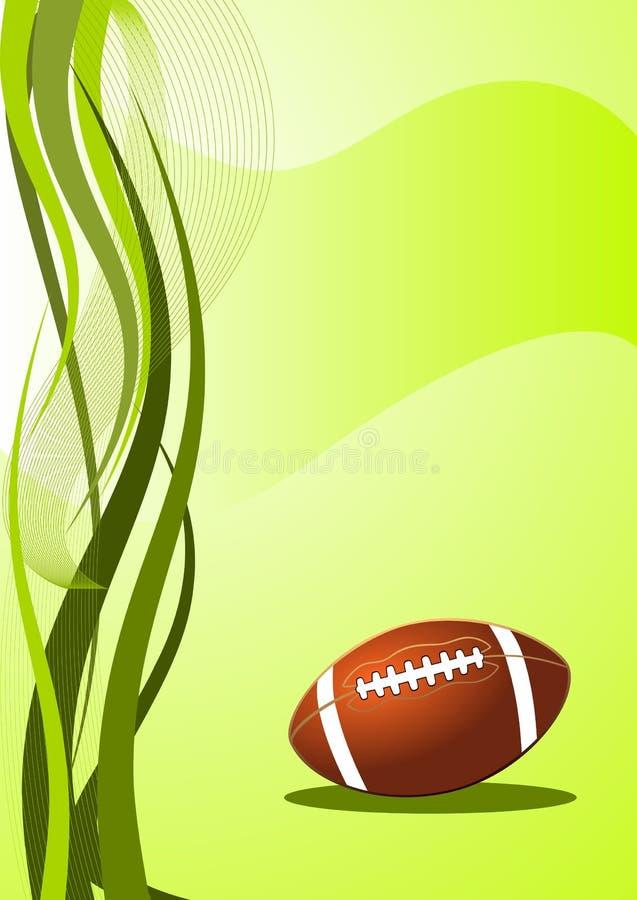 amerikansk bakgrundsfotbollvektor vektor illustrationer