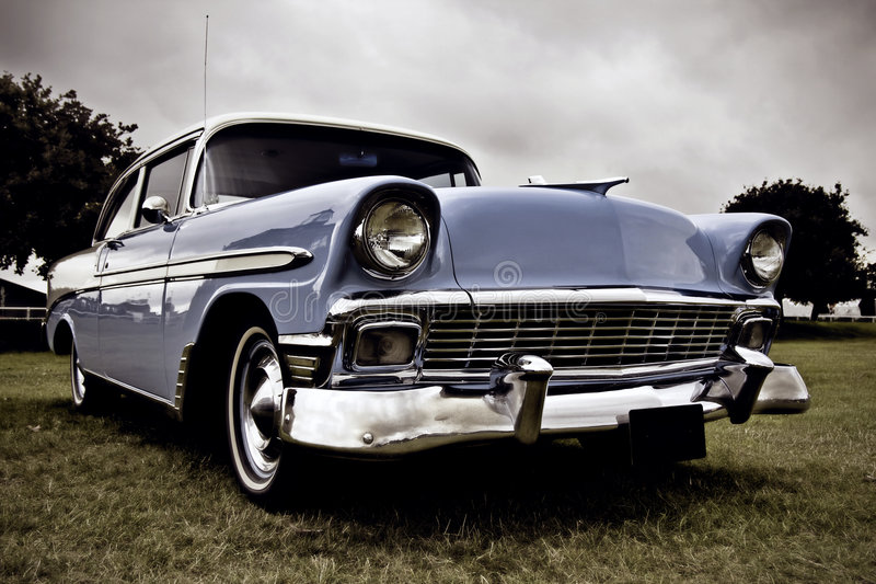 amerikansk bilclassic fotografering för bildbyråer